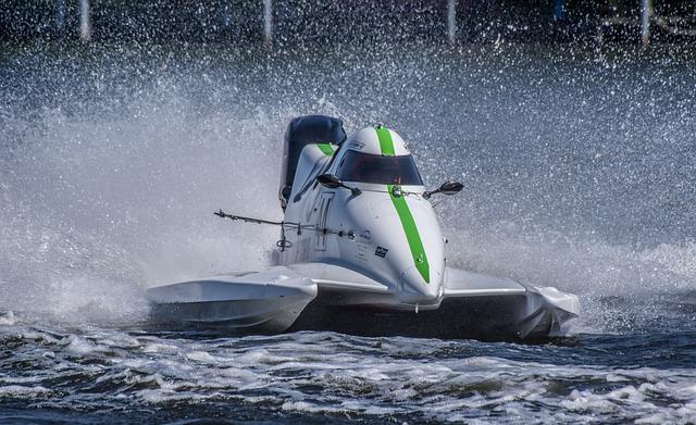 Motor Boat Race, Water Sports, Racing, Motorsport