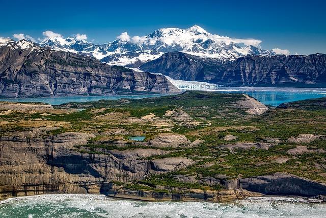 Mount St Elias, Icy Bay, Wrangell, Mountains, Alaska