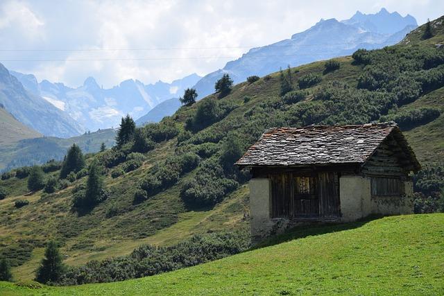 Alm, Mountain, Alp