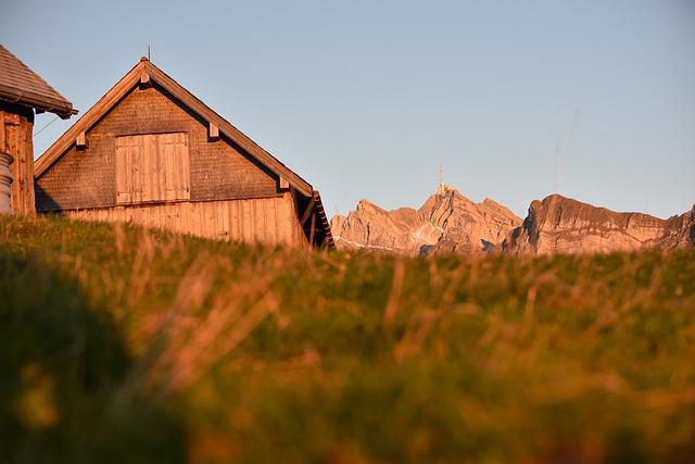 Alpine Hut, Alpstein, Säntis, Alpine, Mountain