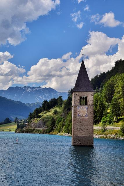 Altoadige, Mountain, Lake, Südtirol, Italy, Mountains