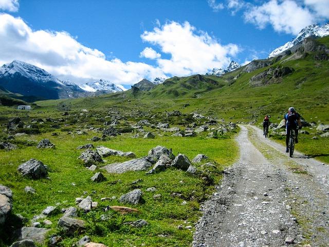 Mtb, Mountain Bike, Alpine, Transalp, Mountains