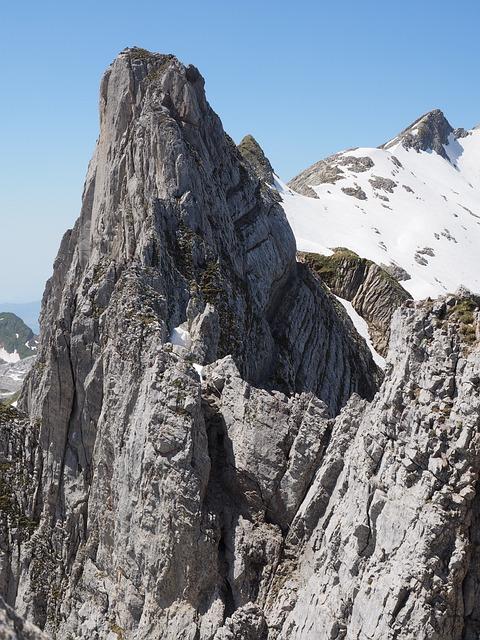 Lenses Ridge, Climbing, Scramble, Mountain, Alpine