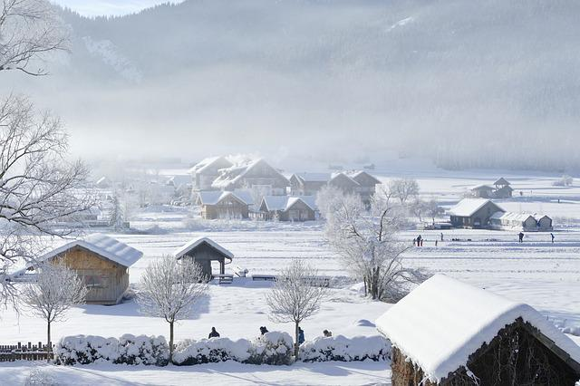 Snow, Winter, Cold, Frozen, Frost, Mountain, Home