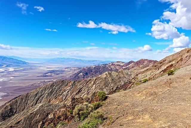 Dante's View, Mountain, Desert, Southwest, Scenic