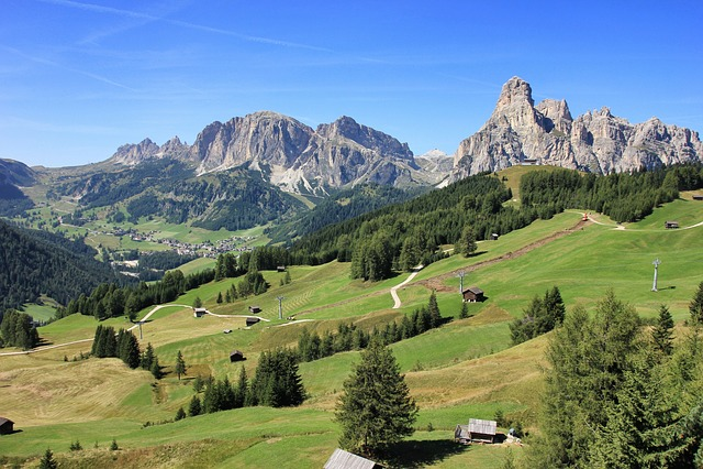 Mountain, Nature, Landscape, Travel, Valley, Dolomites
