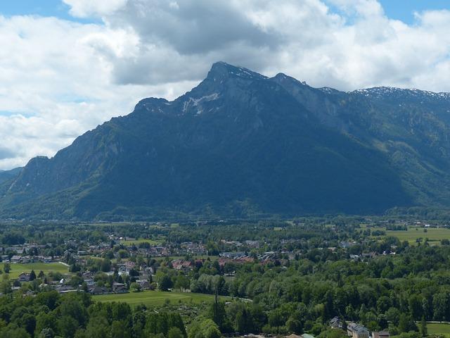 Unterberg, Geiereck, Mountain, Alpine, Salzburg