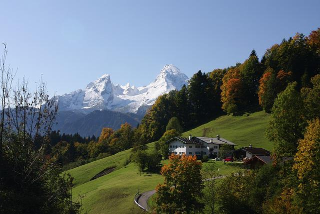 Berchtesgaden, Bavaria, Watzmann, Germany, Mountain