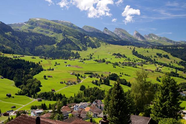 Churfirsten, Mountain Group, Valley, Alpine