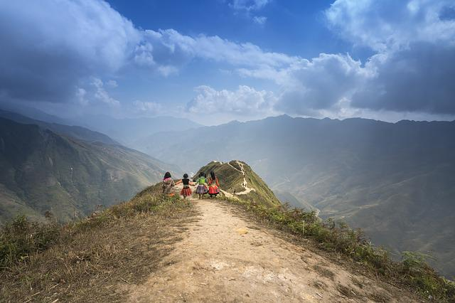 Vietnam, Ha Giang, Street, Mountain, Province