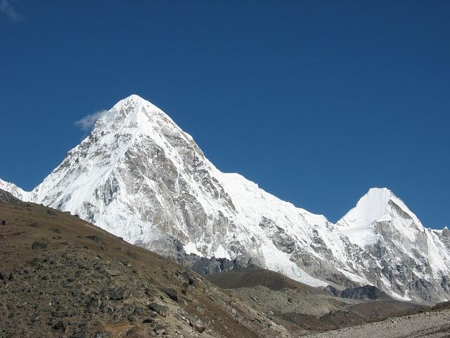 Pumori, Himalaya, Everest Trek, Mountain, Snow