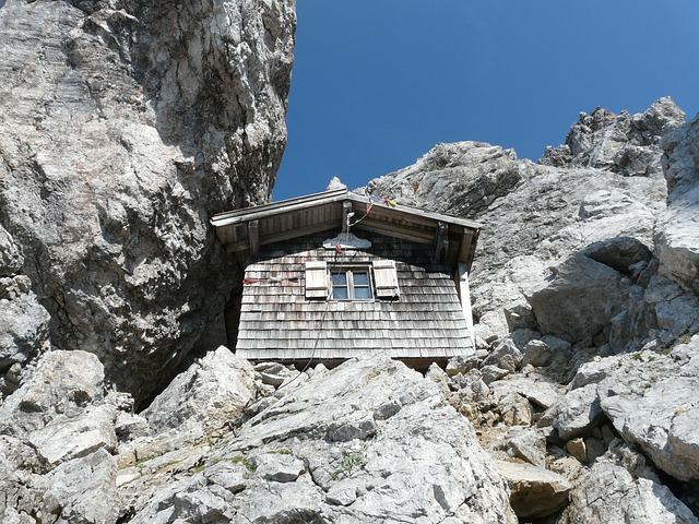 Babenstuber Hut, Emergency Shelter, Hut, Mountain Hut