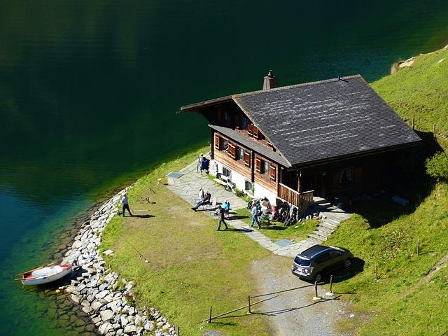 Mountain Hut, Vacation, Haus Am See, Mountain Summit