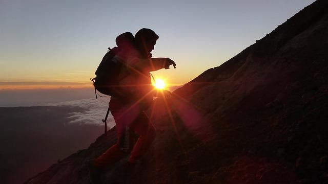 Mountain, Travelling, Tracking, Indonesia, Travel