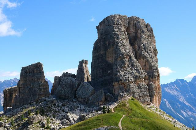 Italy, Dolomites, Europe, Mountain, Landscape, Rocks