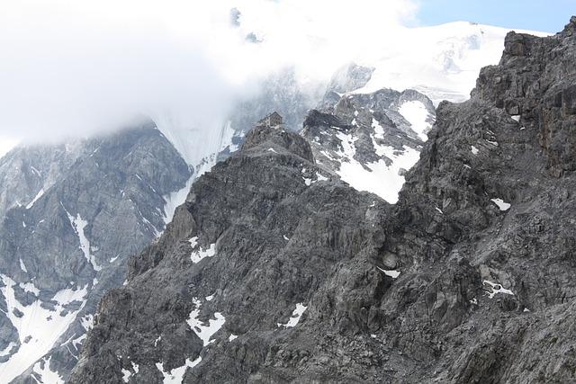 Mountain, Hut, Fog, Julius Payer Hut, Payer Hut, Ortler