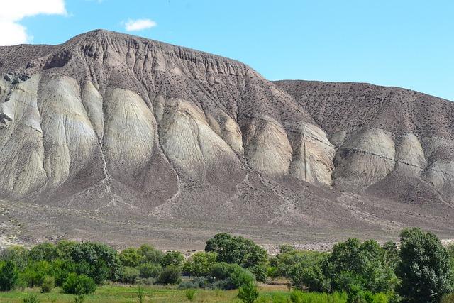 Central Asia, Kyrgyzstan, Mountain, Erosion
