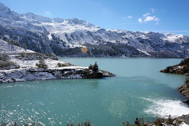 Mountain Lake, Mountain Reservoir, Kopsstausee