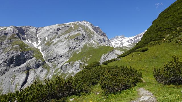 Mountain Landscape, Hiking, St, Gallen, Alpine