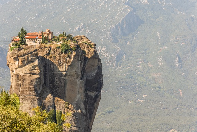 Nature, Outdoors, Mountain, Landscape, Rock, Kalampaka