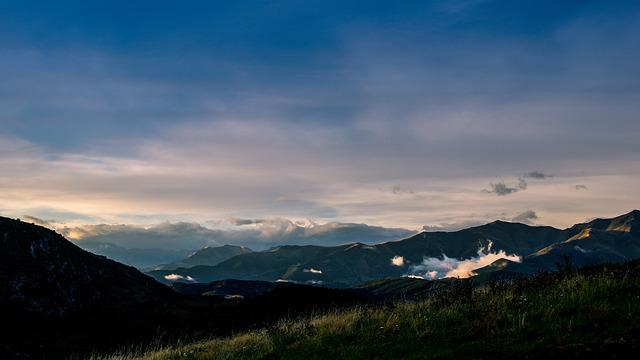 Mountain, Fog, Mountain Landscape, Nature
