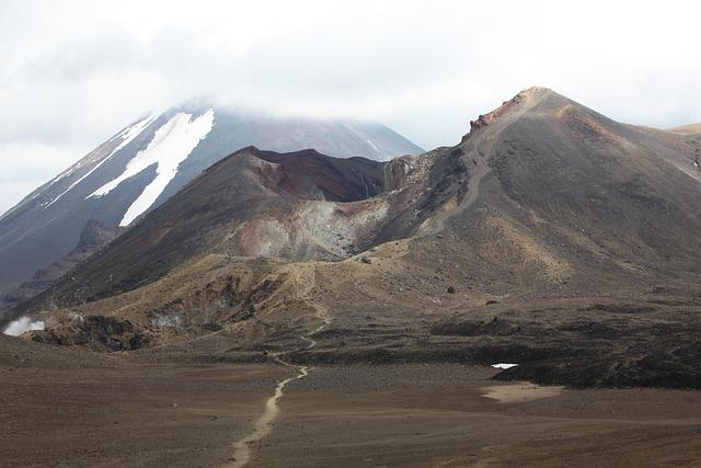 Mountain, Nature, Landscape, North Island, Trail