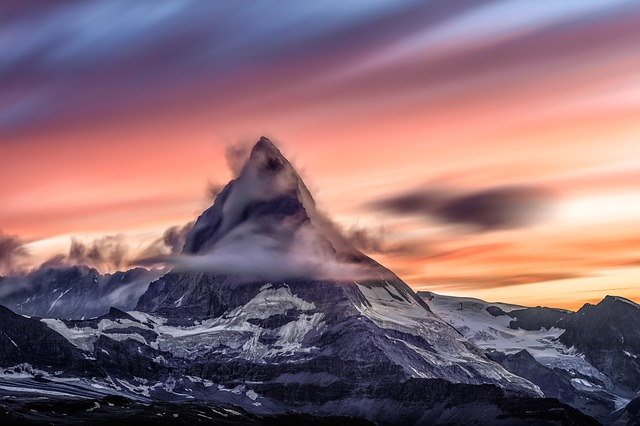 Matterhorn, Mountain, Peak, Summit, Mountain Landscape