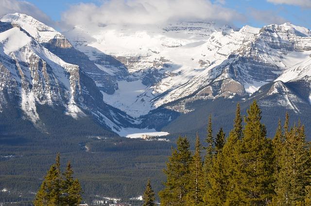 Mountains, Winter, Snow Mountain, Mountain Landscape