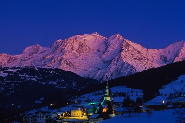 Mountain, Snow, Travel, Landscape, Panoramic