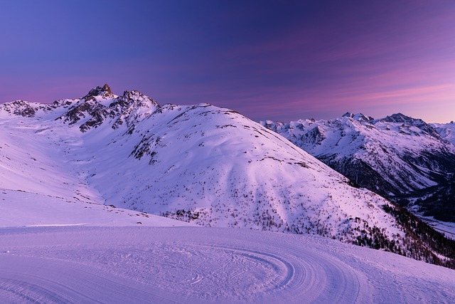 Snow, Landscape, Mountain, Switzerland, Engadin