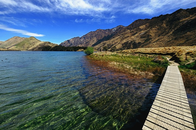 Waters, Nature, Landscape, Sky, Mountain, Tourism, Lake