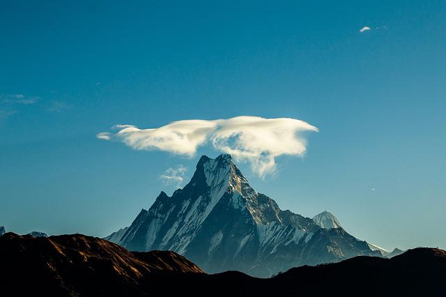 Fishtail, Mountain, Landscape, Nepal, Nature, Trekking