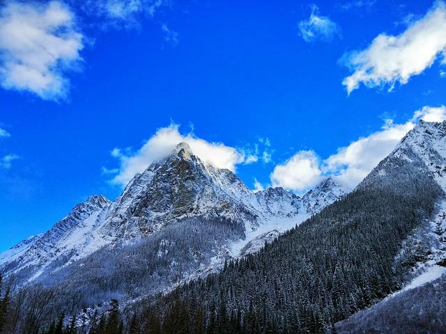 Mountain, Pass, Snow, Scenic, Outdoor, Tourism