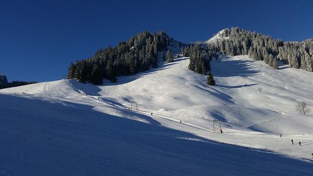 Snow, Winter, Mountain, Panorama