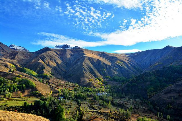 Nature, Landscape, Sky, Panoramic, Mountain, Kennedy