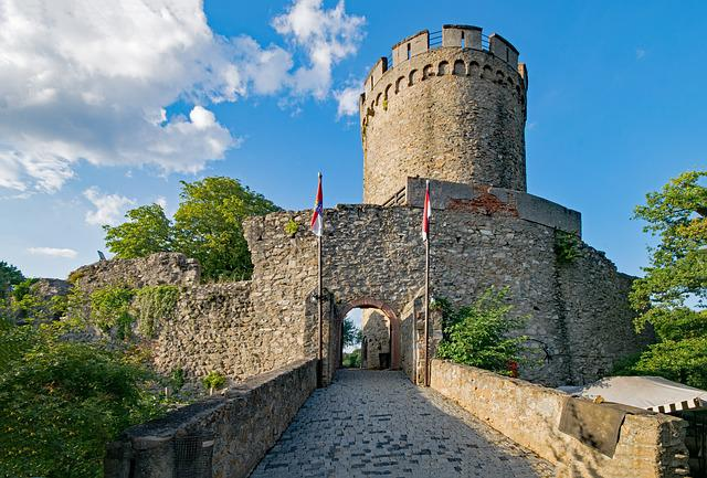 Castle, Alsbach, Mountain Road, Hesse, Germany