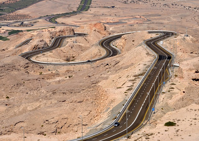 Al Ain, Jebel Hafeet, Mountain Road, Uae, Desert