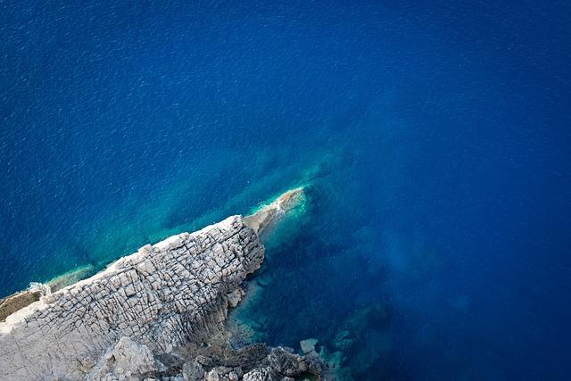 Blue, Water, Rocks, Sea, Nature, Mountain