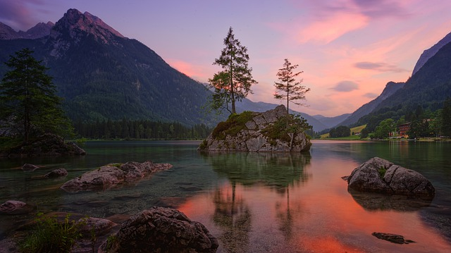 Waters, Nature, Mountain, Travel, Lake, Sky, Landscape