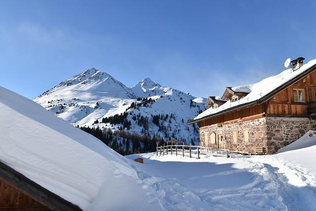 Snow, Winter, Mountain, Cold, Resort, Alm, Trentino