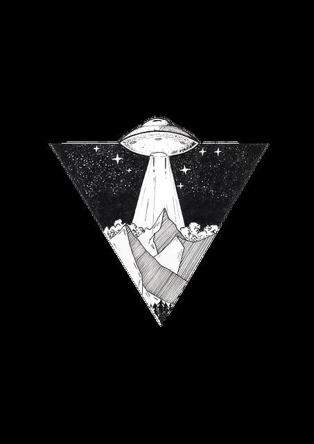 Art, Space, Planet Earth, Mountain, Space Ship