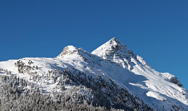 Snow, Mountain, Mountain Summit, Winter, Ice, Panorama