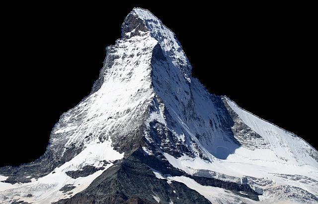 Matterhorn, Snow, Mountain, Ice, Mountain Summit, Rise