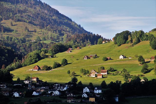 Landscape, Mountain Trekking, Village