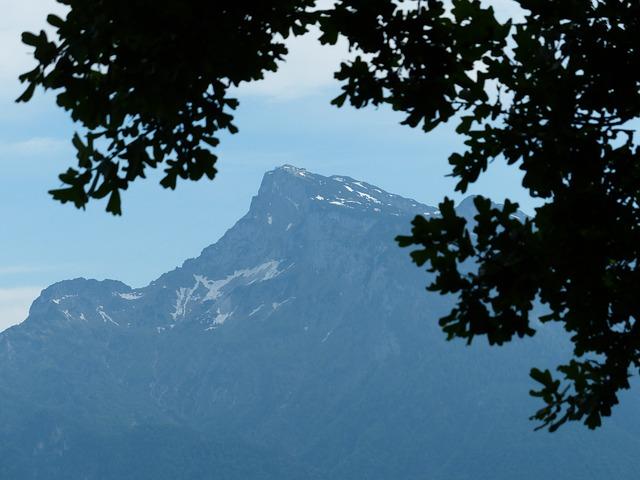 Geiereck, Unterberg, Mountain, Alpine, Salzburg