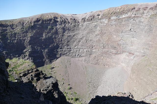 Vesuvius, Volcano, Naples, Italy, Mountain, Crater