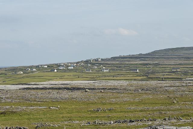 Aran Islands, Village, Mountain