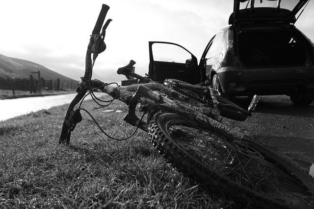 Bicycle, Mountain, Wales, Moel Arthur
