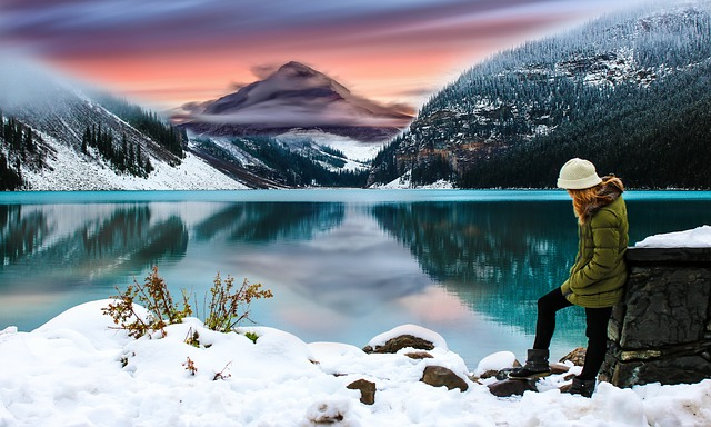 Snow, Ice, Winter, Water, Mountain, Cold, Nature