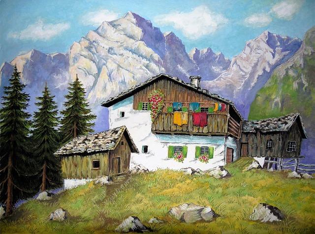 Mountain World, Mountains, Alm, Mountain Landscape